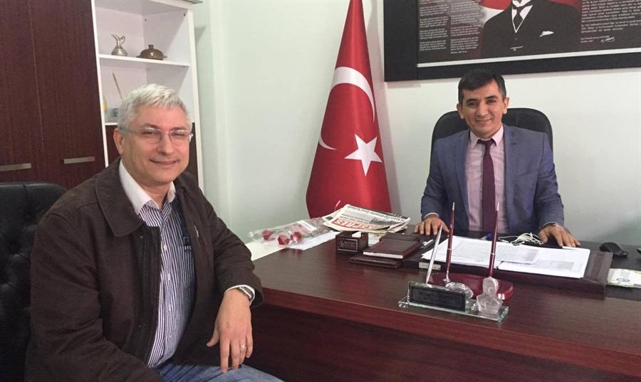 Resim ZAHED'den, Milli Eğitim Müdürü Özdemir'e Ziyaret