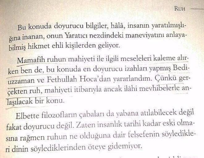 Resim Öğrencilere Dağıtılan Kitapta Fethullah Gülen'in Referans Alındığı İddiası