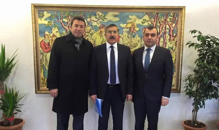 Resim Çolakoğlu Kültür ve Turizm Bakanlığı'nda
