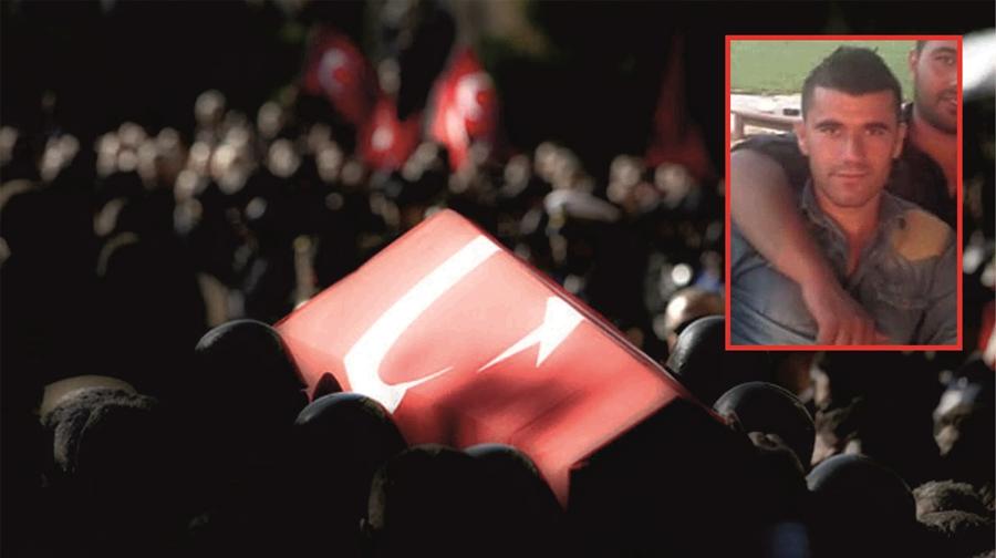 Resim Zonguldak Şehidine Ağlıyor….