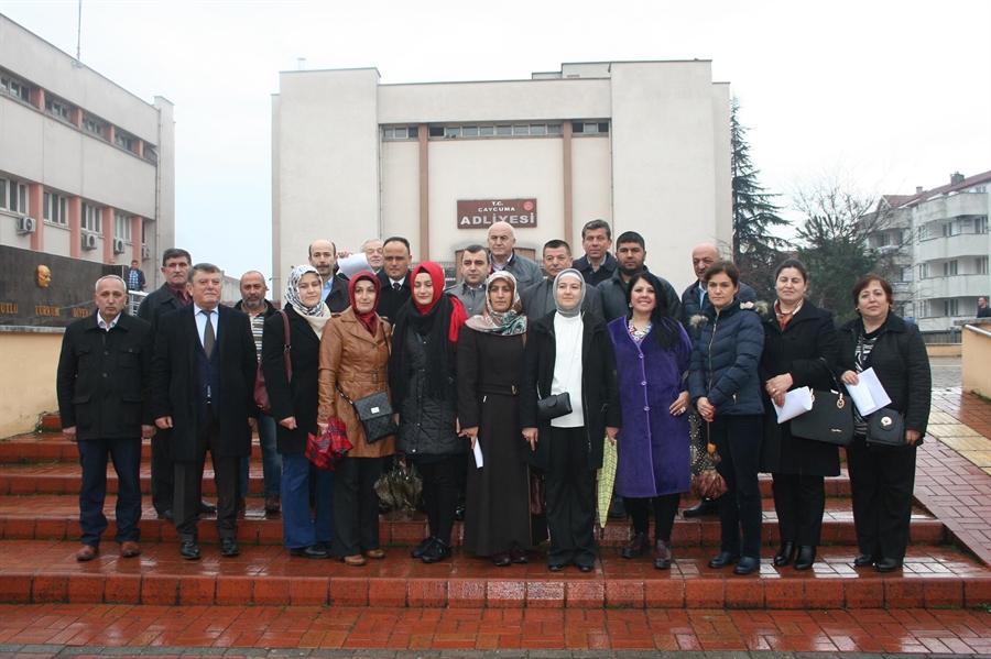 Resim Çaycuma Ak Parti'den Kılıçdaroğlu'na Suç Duyurusu