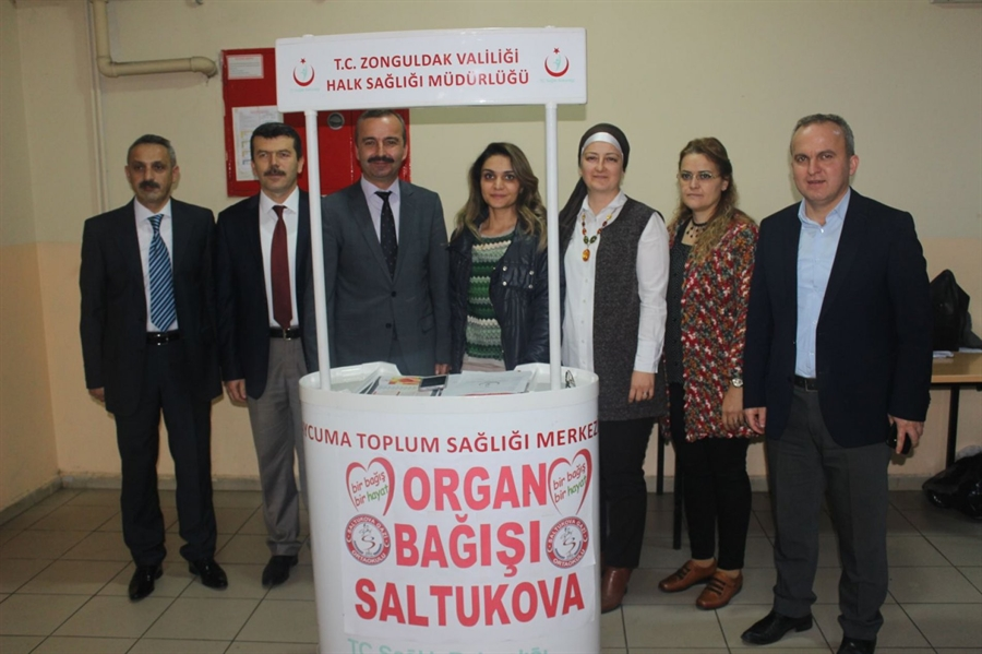 Resim Saltukova Gazi Ortaokul'undan Organ Bağışına Çağrı
