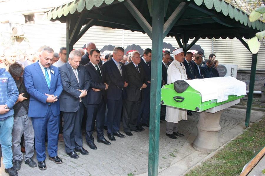 Resim Baba Enver Kamitoğlu, Son Yolculuğuna Uğurlandı