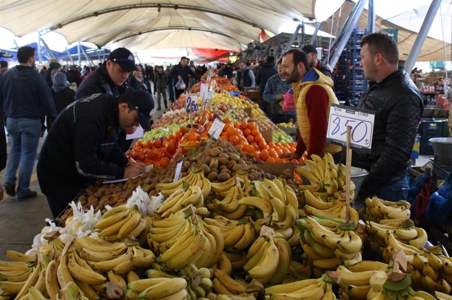 Resim Meyve-Sebze Fiyatları Denetlendi
