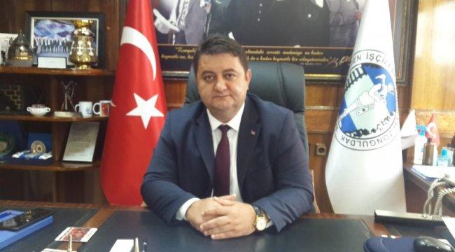 """Resim GMİS Genel Başkanı Hakan Yeşil """"Kıdem Tazminatı Kırmızı Çizgimizdir"""""""